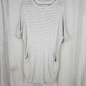 Lou & Grey Oversized Plush Mini Dress | S